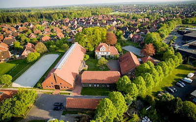 Luftaufnahme des Kursstandortes in Dülmen