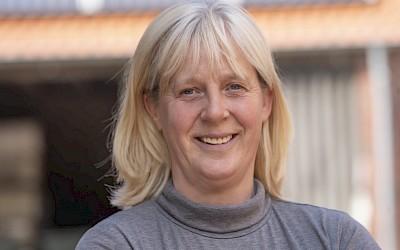 Pferdephysiotherapeutin Christa Naclerio