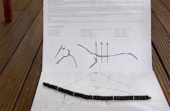 Mit einer Messschlange kann man den perfekten Sitz des Sattels ausmessen